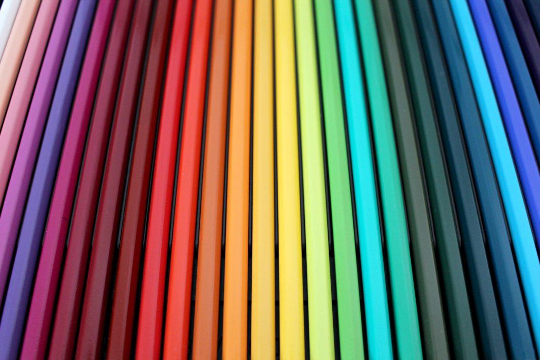 Grafica colori tipografia significati