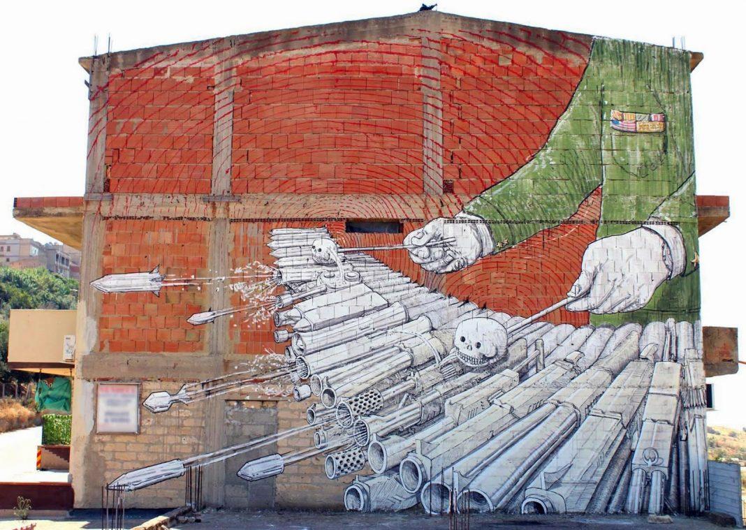 Blu street art simbolismo