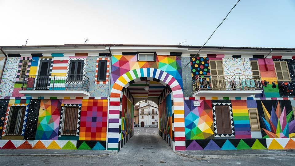 Aielli street art 2021