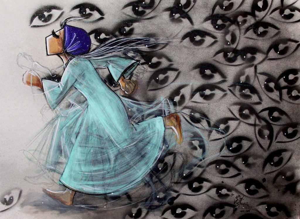 Shamsia hassani artista afghana